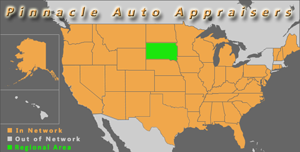 map south dakota pinnacle auto appraiser appraisal dimished value